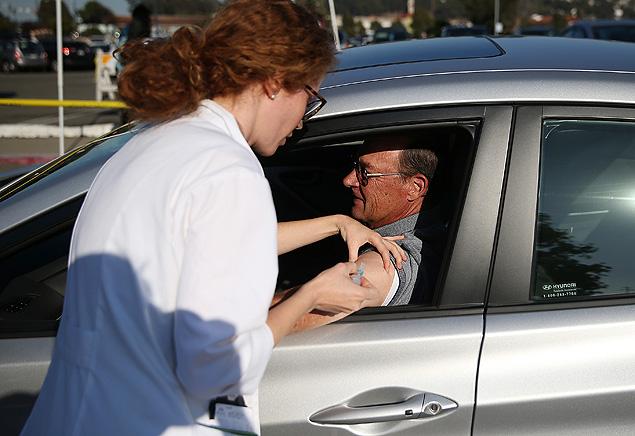 Haverá equipes de vacinação a partir das 8 horas da manhã