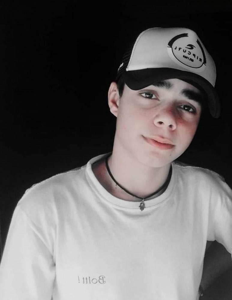 A vitima Harrysson Alves Ferreira 17 anos ( foto Facebook)