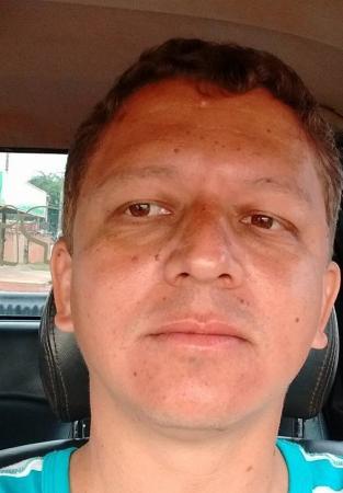 O motorista Ellyanderson Pio da Silva, 39 anos ( foto Facebook)